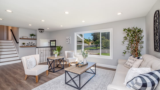 Living space designed by Smyrna Home Improvement